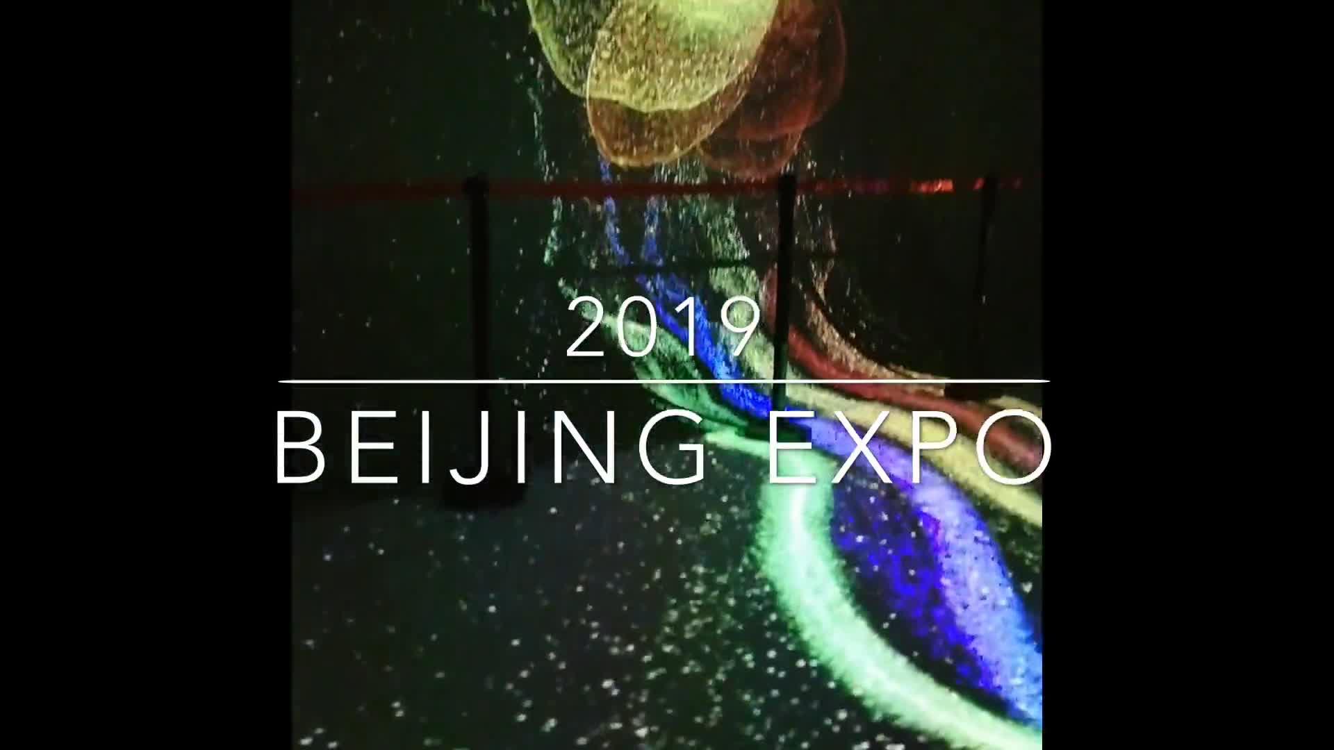 Fab Night Scene of Beijing Expo 2019